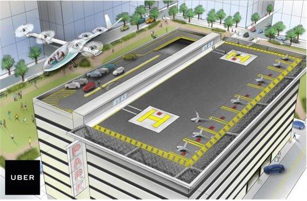 太科幻了:Uber未来十年要把城市交通改造成这样